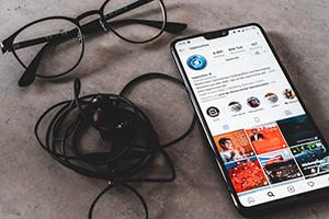 Instagram wird für den Journalismus immer wichtiger. Foto: Christopher Müller