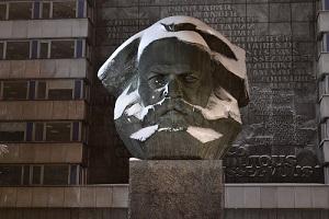 Das Karl-Marx-Monument in Chemnitz als Sinnbild der Bilderstürmerei. Quelle: Pixabay