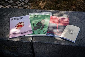 Neue Ausgaben der Point, MEDIAkompakt, VielSeitig und PMM Insight, Foto: Christopher Müller