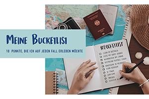 "Marie Kirchners ""Bucket List für Australien"" (Foto: Marie Kirchner)"