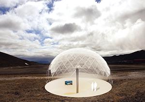 In diesem Projekt ging es um innovative Architektur, die umweltverträglich Touristen in die Region führen soll