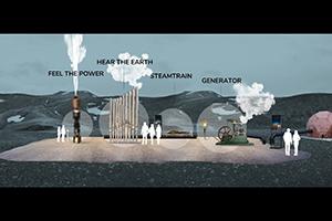 Die Technik der Geothermalenergie wird den Besuchern der Region vermittelt, um Akzeptanz zu schaffen
