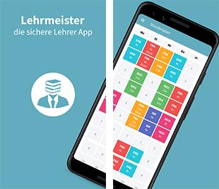 Die Lehrmeister-App soll Lehrern den Schulalltag erleichtern, Foto: Projektteam