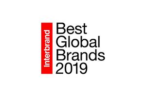 Jedes Jahr kürt die Marktforschungsfirma Interbrand die 100 wertvollsten Marken der Welt. Quelle: Screenshot via https://www.interbrand.com/best-brands/