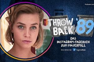 Nora Sommerfeld nimmt uns in ihrem Videotagebuch zu den historischen Wochen kurz vor der Wende mit. Foto: Tagesschau.de