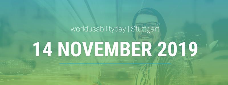 "Screenshot der Homepage des ""World Usability Day"" in Stuttgart. © http://wud-stuttgart.de/"