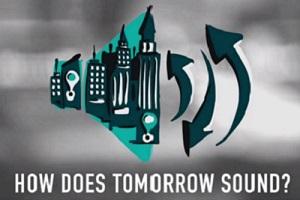 """Die Masterstudierenden haben mit der Arbeit """"How does tomorrow sound?"""" den Deutschen Multimediapreis gewonnen. Foto: Screenshot. How does tomorrow sound?"""