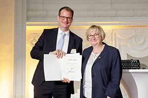 Prof. Dr. Simon Wiest (Foto: MWK, Jan Potente)