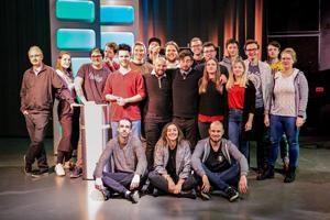 Das Projektteam der StuPro TV des Wintersemester 2019/2020, Foto: Projektteam