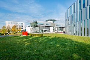 Die HdM in Stuttgart-Vaihingen