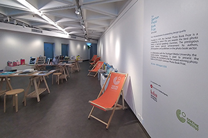 Ausgezeichnete Bücher werden ausgestellt (Foto: Wai Ka Wong, Goethe Institut Hongkong)