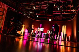 Die Sendung wurde im TV-Studio an der HdM produziert