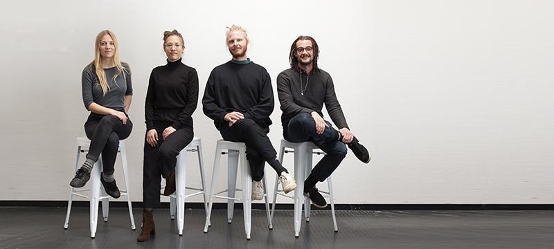Das Proservation-Team: Sophia Scherer, Lisa Antonie Scherer, Henning Tschunt und Nils Bachmann (von links, Foto: Proservation)