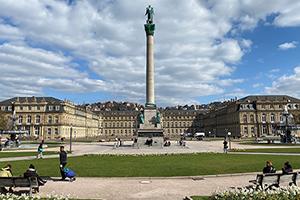 """Der Schlossplatz ist eine Station bei den """"Hörenswürdigkeiten"""""""