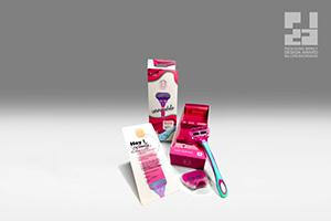 Vanessa Hoffer überzeugte mit einer nachhaltigen Verpackung für wiederverwendbare Rasierapparate