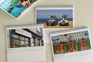The calendar for 2022 of the International Office of Hochschule der Medien is full of impressions from some of their students' time abroad (Photo: International Office)