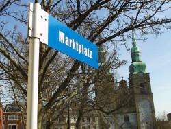 Eupen, Hauptstadt der Deutschsprachigen Gemeinschaft: Marktplatz mit St.-Nikolaus-Kirche (Fotos: Oliver Zöllner)