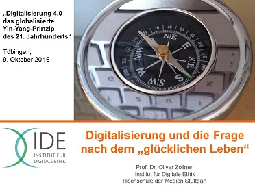 Wie kann man mit digitalen Medien ein gutes Leben führen? Die Digitale Ethik will Reflexions- und Lösungsansätze aufzeigen