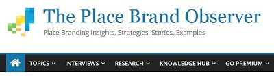 Das Online-Fachportal 'The Place Brand Observer'