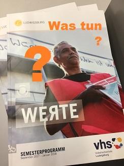 Das Thema 'Werte' ist 2017/18 das Schwerpunktthema der VHS Ludwigsburg. (Foto/Bearbeitung: Oliver Zöllner, Motivvorlage: VHS Ludwigsburg)