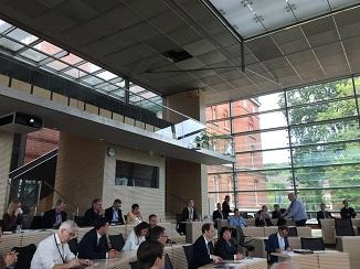 Die Digitalisierungskonferenz des Nationalen E-Government-Kompetenzzentrums (NEGZ) fand im Schleswig-Holsteinischen Landtag zu Kiel statt (Foto: Oliver Zöllner).
