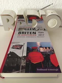 Oliver Zöllners Abhandlung zum Truppensender BFBS erschien im Sammelband 'Briten in Westfalen. Besatzer, Verbündete, Freunde?' (Verlag Ferdinand Schöningh, Paderborn; Foto: Oliver Zöllner).
