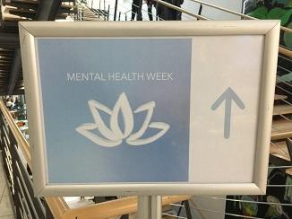 Oliver Zöllners Vortrag und Workshop 'Digital gut leben' fand im Rahmen der Mental Health Week der HdM statt (Foto: Oliver Zöllner).